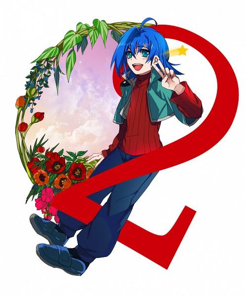 Tags: Anime, Wonagi, Cardfight!! Vanguard, Sendou Aichi, Pixiv, Fanart, Team Q4