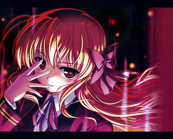 Tags: Anime, Bekkankou, August (Studio), Fortune Arterial, Sendou Erika, Official Art, Scan