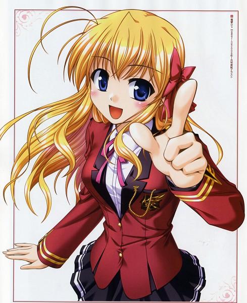 Tags: Anime, Bekkankou, August (Studio), Fortune Arterial, Sendou Erika