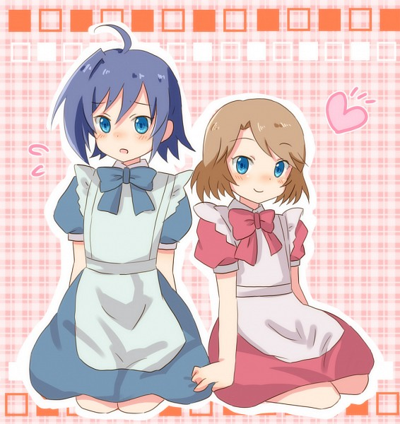 Tags: Anime, Sr Soba, Cardfight!! Vanguard, Sendou Emi, Sendou Aichi, Pixiv, Fanart, Sendou Siblings