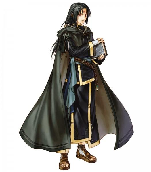 Tags: Anime, Kita Senri, Fire Emblem: Path of Radiance, Senerio (Fire Emblem), Sorcerer, Official Art, Soren (fire Emblem)