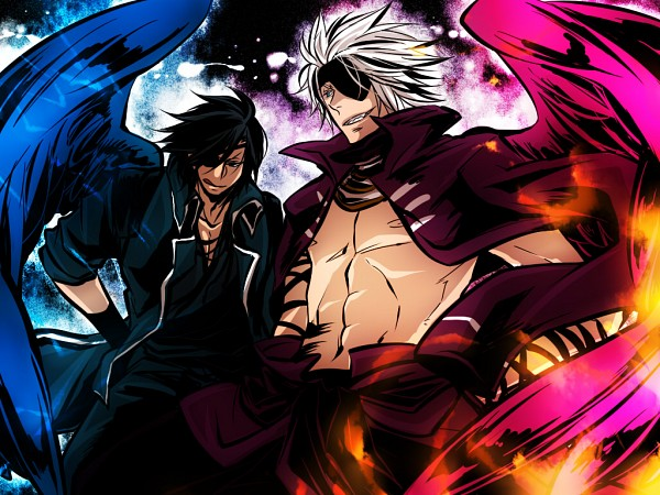 Tags: Anime, Midori Hana, Sengoku Basara, Motochika Chosokabe (Sengoku Basara), Date Masamune (Sengoku Basara), Devil Kings