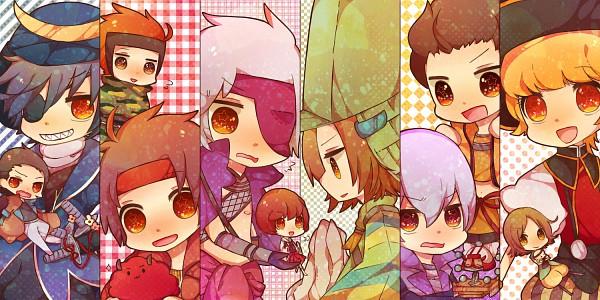Tags: Anime, Miyuko, Sengoku Basara, Date Masamune (Sengoku Basara), Tsuruhime, Motochika Chosokabe (Sengoku Basara), Ishida Mitsunari (Sengoku Basara), Katakura Kojuurou (Sengoku Basara), Otomo Sorin (Sengoku Basara), Tokugawa Ieyasu (Sengoku Basara), Sarutobi Sasuke, Sanada Yukimura (Sengoku Basara), Ootani Yoshitsugu (Sengoku Basara), Devil Kings