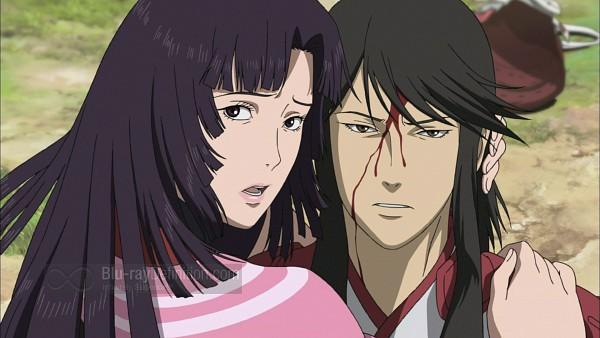 Tags: Anime, Capcom, Sengoku Basara, Azai Nagamasa (Sengoku Basara), Oichi (Sengoku Basara), Screenshot, Wallpaper, Devil Kings