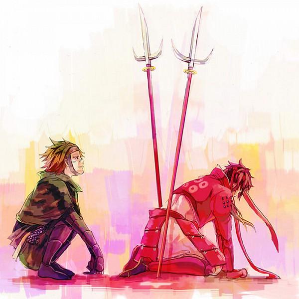 Tags: Anime, Sengoku Basara, Sarutobi Sasuke, Sanada Yukimura (Sengoku Basara), Devil Kings
