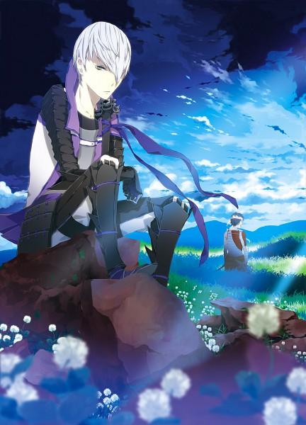 Tags: Anime, Hasumi (Pixiv 577644), Sengoku Basara, Ootani Yoshitsugu (Sengoku Basara), Ishida Mitsunari (Sengoku Basara), Pixiv, Devil Kings