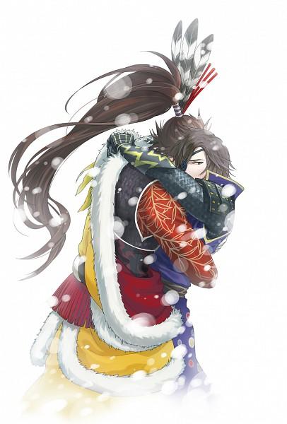 Tags: Anime, Yuko (Pixiv 2995307), Sengoku Basara, Date Masamune (Sengoku Basara), Maeda Keiji (Sengoku Basara), Pixiv, Devil Kings