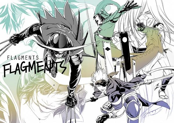 Tags: Anime, Esterhazy, Sengoku Basara, Mori Motonari (Sengoku Basara), Sanada Yukimura (Sengoku Basara), Motochika Chosokabe (Sengoku Basara), Date Masamune (Sengoku Basara), Akechi Mitsuhide (Sengoku Basara), Katakura Kojuurou (Sengoku Basara), Pixiv, Devil Kings