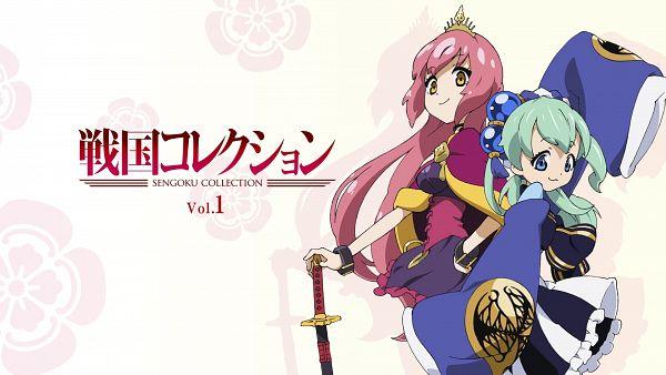 Tags: Anime, Sengoku Collection, Oda Nobunaga (Sengoku Collection), Tokugawa Ieyasu (Sengoku Collection), Official Art, HD Wallpaper, Wallpaper
