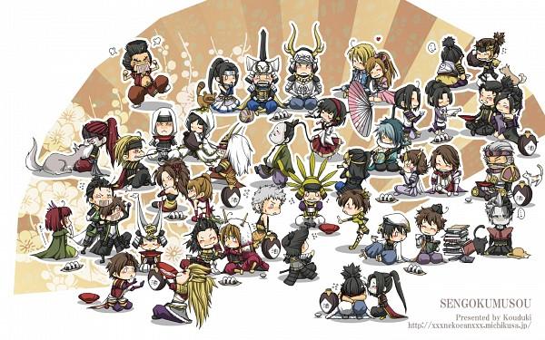 Tags: Anime, Sengoku Musou, Uesugi Kenshin (Sengoku Musou), Miyamoto Musashi (Sengoku Musou), Fuuma Kotarou (Sengoku Musou), Fukushima Masanori (Sengoku Musou), Takeda Shingen (Sengoku Musou), Maeda Toshiie (Sengoku Musou), Tachibana Muneshige (Sengoku Musou), Kuroda Kanbei (Sengoku Musou), Saika Magoichi (Sengoku Musou), Tokugawa Ieyasu (Sengoku Musou), Shimazu Yoshihiro (Sengoku Musou), Samurai Warriors