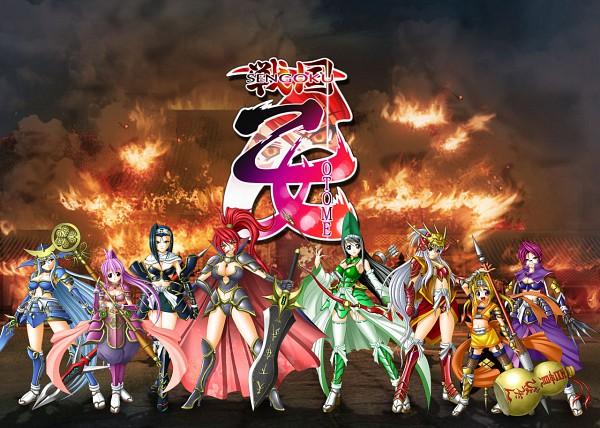 Tags: Anime, Sengoku Otome, Akechi Mitsuhide (Sengoku Otome), Mouri Motonari (Sengoku Otome), Date Masamune (Sengoku Otome), Uesugi Kenshin (Sengoku Otome), Toyotomi Hideyoshi (Sengoku Otome), Takeda Shingen (Sengoku Otome), Oda Nobunaga (Sengoku Otome), Tokugawa Ieyasu (Sengoku Otome), Mace