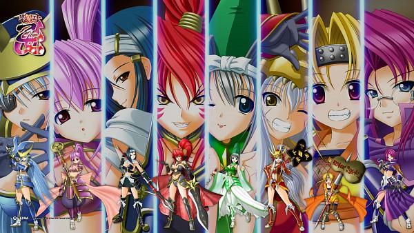 Tags: Anime, Sengoku Otome, Tokugawa Ieyasu (Sengoku Otome), Akechi Mitsuhide (Sengoku Otome), Uesugi Kenshin (Sengoku Otome), Date Masamune (Sengoku Otome), Imagawa Yoshimoto (Sengoku Otome), Toyotomi Hideyoshi (Sengoku Otome), Takeda Shingen (Sengoku Otome), Oda Nobunaga (Sengoku Otome), HD Wallpaper, Wallpaper