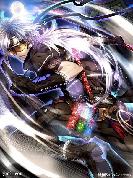 Tags: Anime, Yutifa*47, Sumzap, Sengoku SAGA, Official Art, Character Request, Official Card Illustration, Pixiv
