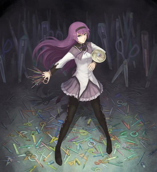 Tags: Anime, Gou (Ga673899), Monogatari, Senjougahara Hitagi, Akemi Homura (Cosplay), Pixiv