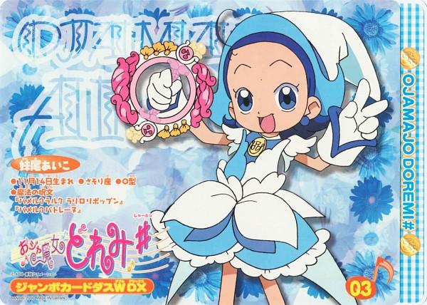 Tags: Anime, Umakoshi Yoshihiko, Ojamajo DoReMi, Senoo Aiko, Royal Patline, Wreath Poron, Official Art, Scan