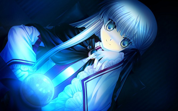 Tags: Anime, Hinoue Itaru, KEY (Studio), Rewrite, Senri Akane, CG Art, Wallpaper