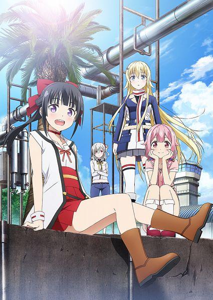 Tags: Anime, Yokota Takumi, A-1 Pictures, Senyoku no Sigrdrifa, Muguruma Miyako, Claudia Bruford, Watarai Sonoka, Komagome Azuzu, Official Art, Key Visual, Warlords Of Sigrdrifa