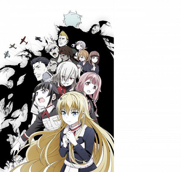 Tags: Anime, Yokota Takumi, A-1 Pictures, Senyoku no Sigrdrifa, Komachi Mikuri, Muguruma Miyako, Gurasan (Senyoku no Sigrdrifa), Kazuura Nono, Claudia Bruford, Kinpatsu (Senyoku no Sigrdrifa), Honjo Misato, Ronge (Senyoku no Sigrdrifa), Watarai Sonoka, Warlords Of Sigrdrifa