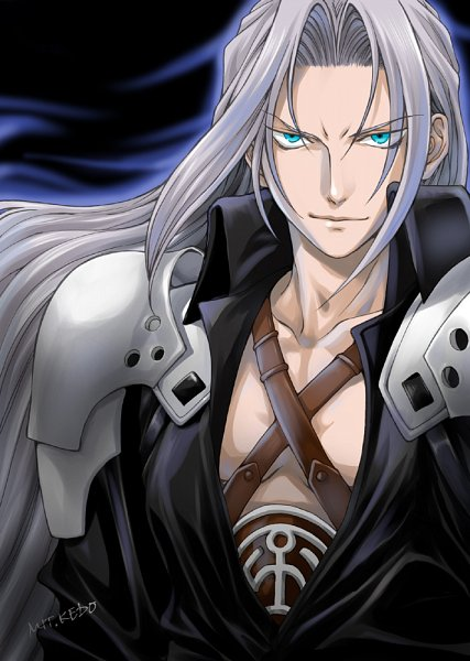 Tags: Anime, Kedo Mitsuharu, Final Fantasy VII, Sephiroth