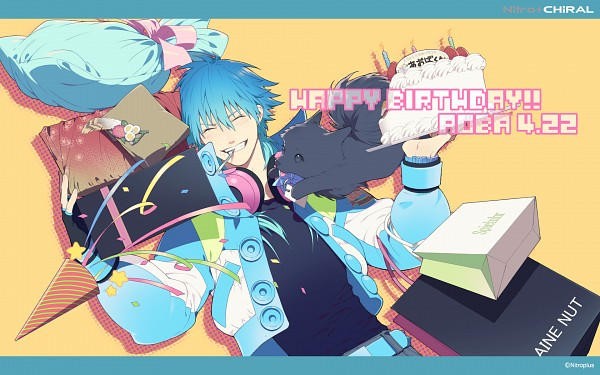 Tags: Anime, Honya Lala, DRAMAtical Murder, Ren (DMMd), Seragaki Aoba, Official Art, Wallpaper