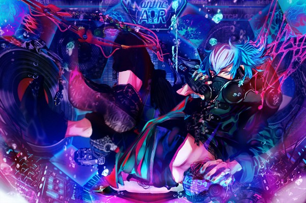 Tags: Anime, Pixiv Id 3605919, DRAMAtical Murder, Seragaki Aoba, Fanart From Pixiv, Pixiv, Fanart
