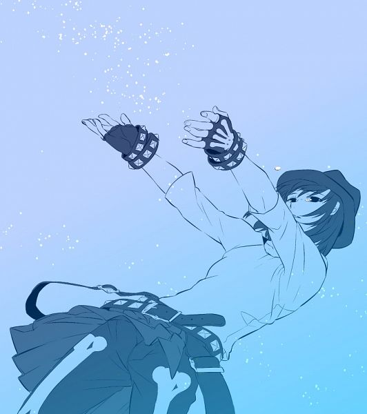 Tags: Anime, Pixiv Id 590074, DRAMAtical Murder, Seragaki Sei, Jacket Around Waist, Fanart From Pixiv, Pixiv, Fanart