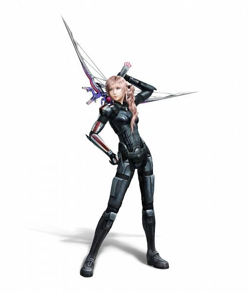 Tags: Anime, SQUARE ENIX, Final Fantasy XIII, Serah Farron, Collaboration, 3D, Official Art