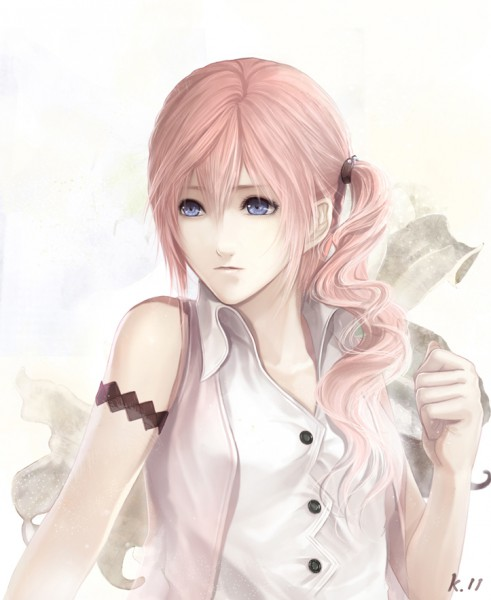 Tags: Anime, Red Melody, Final Fantasy XIII, Serah Farron