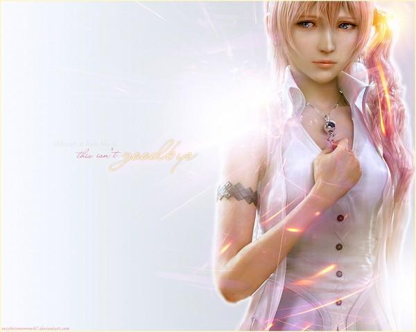 Tags: Anime, SQUARE ENIX, Final Fantasy XIII, Serah Farron, Wallpaper