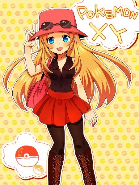 Tags: Anime, Tyeinn-suineryuu, Pokémon X & Y, Pokémon, Serena (Pokémon), Fanart, Fanart From Pixiv, Pixiv