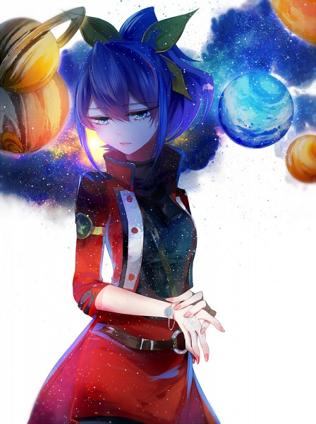 Tags: Anime, Pixiv Id 3196276, Yu-Gi-Oh!, Yu-Gi-Oh! ARC-V, Serena (Yu-Gi-Oh! ARC-V), Planet Mars, Star Print, Planet Jupiter, Saturn, Pixiv, Mobile Wallpaper, Fanart From Pixiv, Fanart