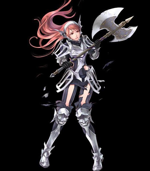 Tags: Anime, Wada Sachiko, Intelligent Systems, Fire Emblem Heroes, Serge (Fire Emblem), Official Art, Cherche