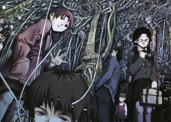 Serial Experiments Lain - Yoshitoshi Abe