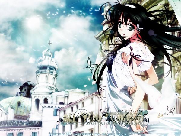 Tags: Anime, Murakami Suigun, Natsuiro No Sunadokei, Serizawa Kaho, Church, Wallpaper