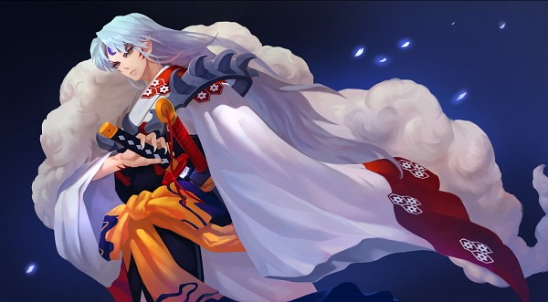 Tags: Anime, Grandia Lee, InuYasha, Sesshoumaru, Wallpaper