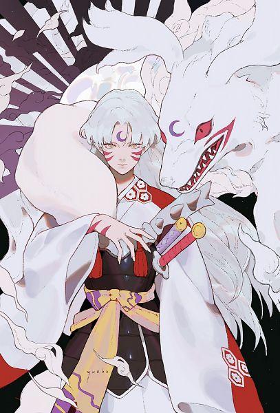 Tags: Anime, Jiayue Wu, InuYasha, Sesshoumaru, Pixiv, Fanart, Fanart From Pixiv