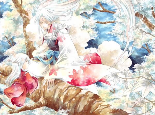 Tags: Anime, Pui, InuYasha, Sesshoumaru, InuYasha (Character), Fanart, Pixiv