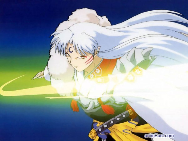 Tags: Anime, InuYasha, Sesshoumaru, Screenshot, Wallpaper, Fanmade Wallpaper, Edited