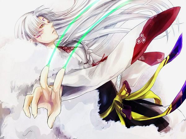 Tags: Anime, Shinobu Clam, InuYasha, Sesshoumaru, Fanart, Pixiv