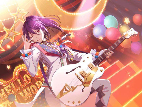 Tags: Anime, Craft Egg, BanG Dream! Girls Band Party!, Seta Kaoru, PNG Conversion, Official Art, Official Card Illustration