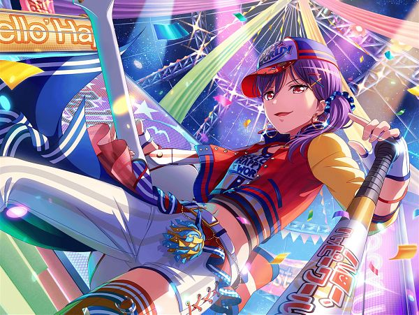 Tags: Anime, Craft Egg, BanG Dream! Girls Band Party!, Seta Kaoru, Official Card Illustration, Official Art
