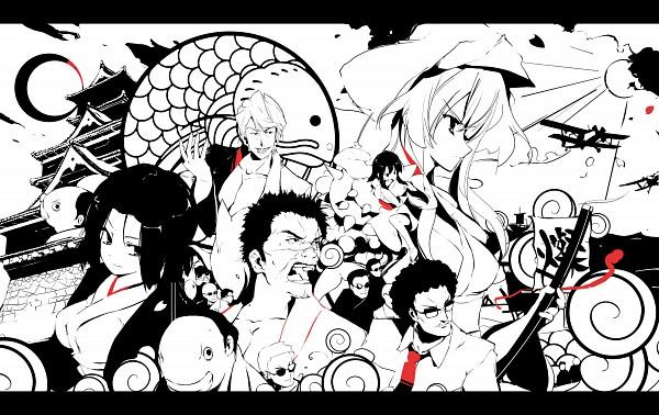 Tags: Anime, Sakura Sora, Seto no Hanayome, Fujishiro Shark, Seto San, Seto Ren, Seto Gouzaburou, Maki (Seto No Hanayome), Masa