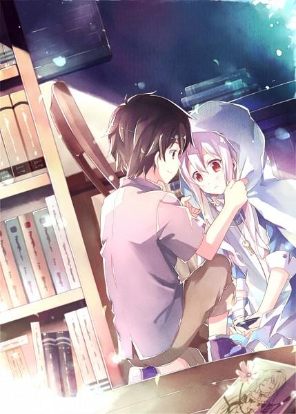 Tags: Anime, Kinoshita Neko, Kagerou Project, Seto Kousuke, Kozakura Marry, Shawl, Mobile Wallpaper, Pixiv, Fanart, SetoMarry