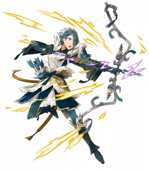 Tags: Anime, Kusugi Toku, Intelligent Systems, Fire Emblem Heroes, Setsuna (Fire Emblem), Official Art, PNG Conversion