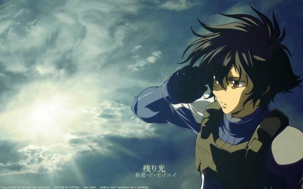 Tags: Anime, Mobile Suit Gundam 00, Setsuna F. Seiei, 1440x900 Wallpaper, Space Suit, Wallpaper, Gundam Meisters