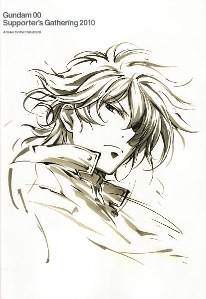 Tags: Anime, Mobile Suit Gundam 00, Setsuna F. Seiei, Mobile Wallpaper, Gundam Meisters