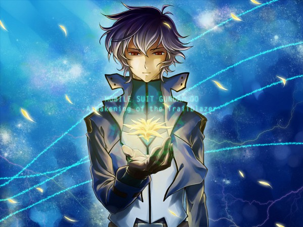 Tags: Anime, Nanoka, Mobile Suit Gundam 00, Setsuna F. Seiei, Fanart, Pixiv, Gundam Meisters