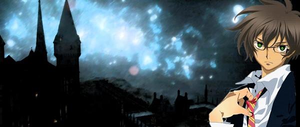 Tags: Anime, Mobile Suit Gundam 00, Setsuna F. Seiei, Harry Potter (Cosplay), Gryffindor House, Gundam Meisters