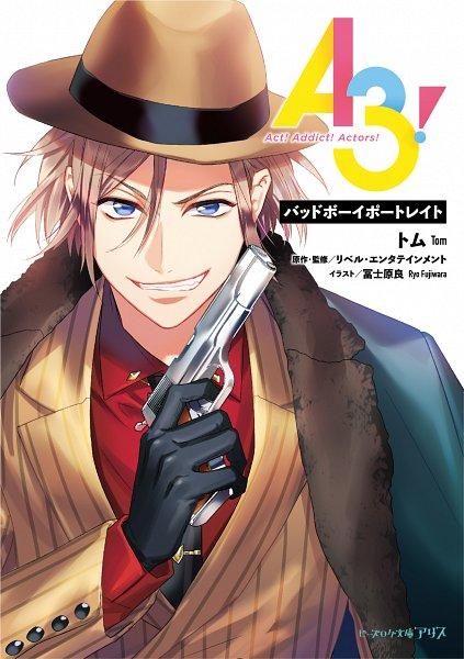 Tags: Anime, Fujiwara Ryo, LIBER ENTERTAINMENT, A3!, Settsu Banri, Jagged, Mafia, Fedora, Official Art, Manga Cover
