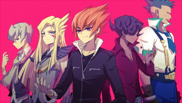 Tags: Anime, Liusang, Yu-Gi-Oh!, Yu-Gi-Oh! ZEXAL, Vector (Yu-Gi-Oh! ZEXAL), Durbe, Girag, Mizael, Alito, Fanart From Pixiv, Fanart, Pixiv, Seven Barian Emperors